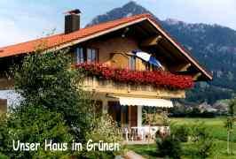 Ferienwohnungen Haus Miller, Ferienwohnung - Ferienhaus in Deutschland, Burgberg, Allgäu